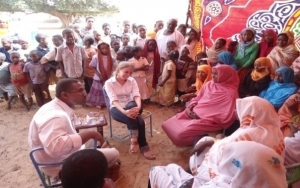Representative of LCF-Embassy of Finland Visit to Khamas area North Kordofan State